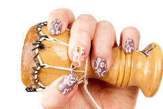 Woman's hand with  manicure Royalty Free Stock Image