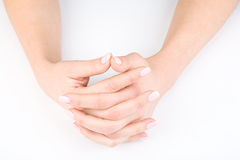 Woman's hands Stock Photos