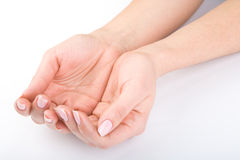 Woman's hands Royalty Free Stock Photos
