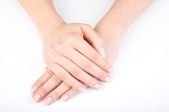 Woman's hands Royalty Free Stock Image