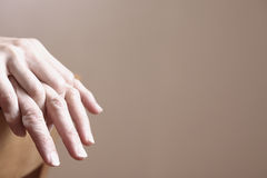 Woman's Hands Royalty Free Stock Photography