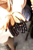 Woman's hands- Tunisia Stock Photography