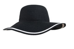 Woman's hat isolated Stock Photography