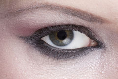 Woman's Hazel Eye Closeup Royalty Free Stock Photo