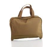 Woman's khaki bag Stock Photos