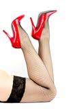 Woman's leg Stock Photos