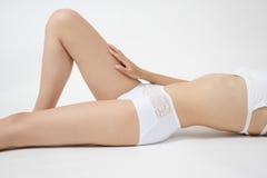 Woman's leg Stock Image