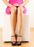 Woman's legs Stock Image