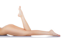 Woman's legs Royalty Free Stock Images