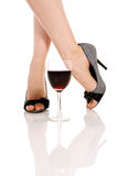 Woman`s Legs Royalty Free Stock Image