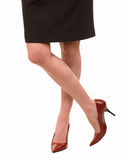 Woman's legs Royalty Free Stock Photo