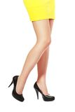 Woman's legs Stock Photo
