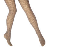Woman's legs Stock Images