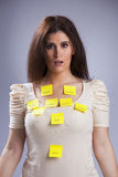 Woman's life problems Royalty Free Stock Photo