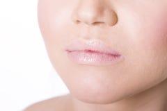 Woman's Lips Stock Photo
