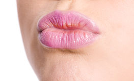 Woman's Lips Royalty Free Stock Photo