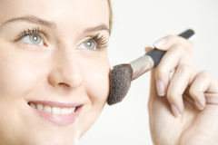 Woman's make up Royalty Free Stock Image