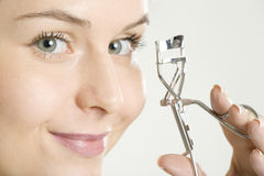 Woman's make up Royalty Free Stock Image