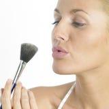 Woman's make up Royalty Free Stock Photo
