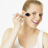 Woman's make up Royalty Free Stock Images
