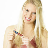 Woman's make up Stock Image