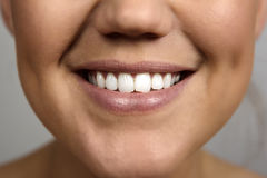 Woman's mouth Stock Photo