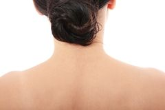 Woman's Neck Stock Photography