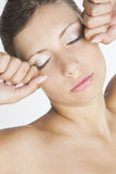 Woman's portrait Stock Photos