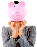 Woman's savings Royalty Free Stock Photography