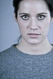 Woman's Scorn Stock Images