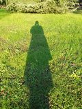 Woman's shadow Royalty Free Stock Photography