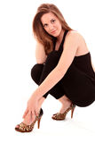 woman's shoes Royalty Free Stock Photography