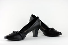 Woman's Shoes. A pair of elegant black woman's shoes Stock Photography