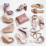 Woman's shoes royalty free stock photo