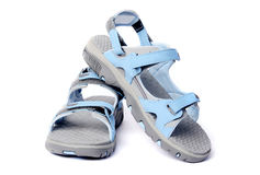 Woman`s sport sandal Stock Image