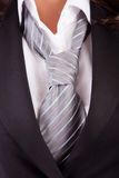 Woman's suit and tie Stock Photos