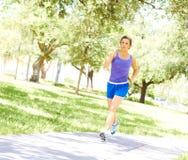 Woman's Daily Workout Stock Photos