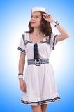 Woman sailor Stock Photography