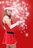 Woman santa claus Royalty Free Stock Photo