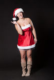 Woman Santa Royalty Free Stock Photos