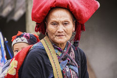 Woman Sapa Stock Photography