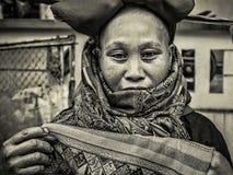 Woman Sapa Stock Image
