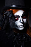 Woman satana Royalty Free Stock Photography