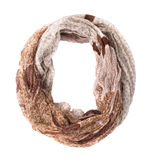 Woman scarf Royalty Free Stock Images