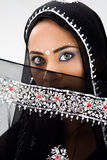 Woman with scarf Stock Image