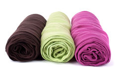 Woman scarfs Stock Images