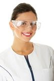 Woman scientist Royalty Free Stock Photos
