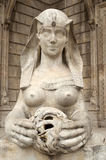 Woman sculpture Stock Images