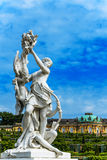 Woman sculpture in Castle Park Sanssouci in Potsdam, near Berlin, Germany Stock Images