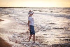 Woman on sea Stock Photos